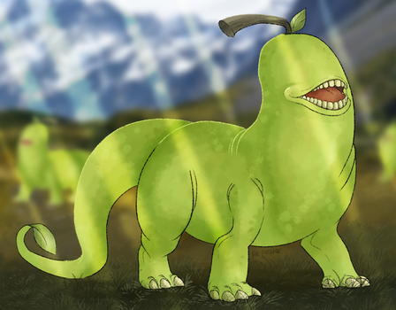 lolwutasaurus by NutkaseCreates