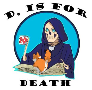 D, is for Death by JasmineLea