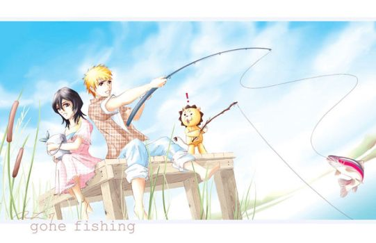 Bleach - Gone Fishing by alicia-lee