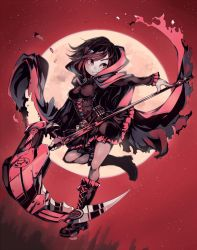 Ruby Rose (RWBY) by Parororo