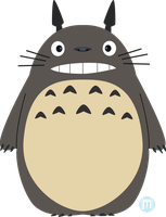 My Neighbor Totoro by MangoKingoroo
