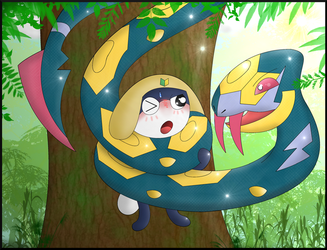 [Commission] Tammama's Seviper Squeeze by Kinipharian