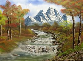 Autumn Creek by DonBowling