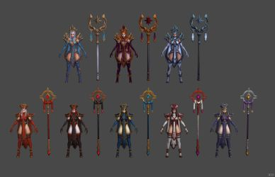 'Heroes of the Storm' Whitemane 2.0 XPS ONLY!!! by lezisell