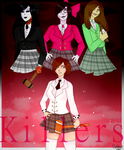 Killers..:Creepypasta Heathers Au: by Spliket