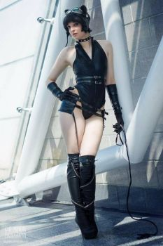 Ame-Comi Catwoman MCM  May 2017 by GagaAlienQueen
