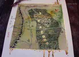 Mirkwood Map by Kinko-White