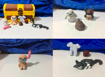 Binding of Isaac Figurines by TyTheNaught