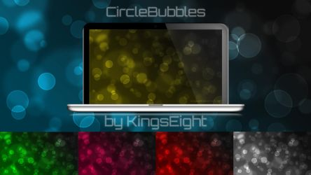 CircleBubbles Wallpaper Pack by KingsEight
