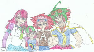 The Entame Duel Family by XBrain130