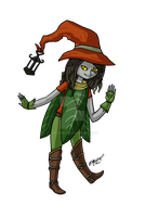 .:Commission:. Willow by Anilede