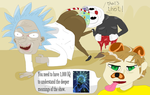 Why Cuphead understands Rick and Morty? by Sikojensika