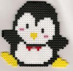 Perler Bead Penguin by Marsharino