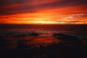 Kona Sunset by salias