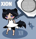 Xion the fox by Miikage