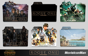 Star Wars Rogue One (2016)  Folder Icon Pack by MovieIconMan