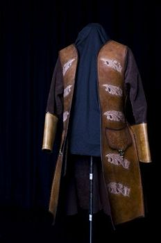Leather Frock coat by simo024