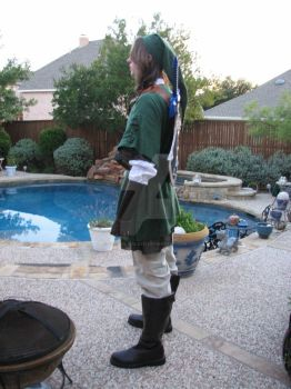 Link Costume Side by Fat-Ugly-Sloth