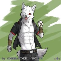 A sweet smile by COMMANDER--WOLFE