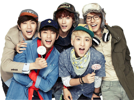 B1A4 Render by DubiDubiKelin