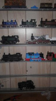 Model Railway Locomotive Collection as of May 2018 by CarnforthJinty