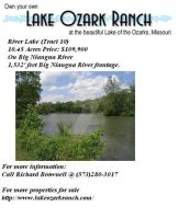 Lake Ozark Ranch flyer by fanfictionaxis