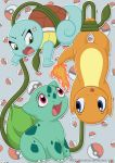 Gen 1 starters - digital version by LittleHybridShila