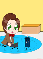 Chibi doctor final by CarcinoNerdist