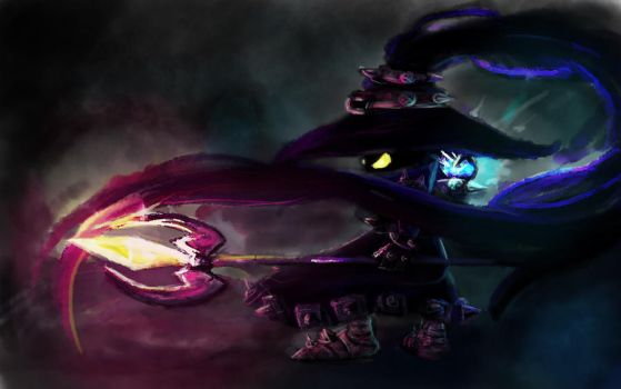 League Of Legends - Veigar - Speedpaint by xXRocmAXx