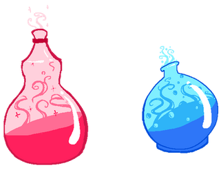 Potions by Gell-pen
