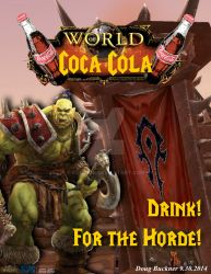 World of Coca Cola, Horde by Konack1