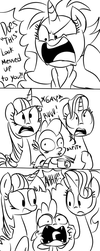 Spike's Reaction by EMositeCC