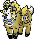 Egyptian Ram adoptable (OPEN) by PastelGlaze