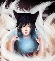 [F.A] Ahri (League of Legends) by Sayuuh