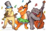 Cool Cats by Tatter-Hood