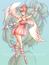 Angel Ballerina Adopt (OPEN) by awildchelseaappeared