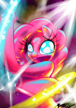 Pinkie's Party Time - Iopichio style by Masscox