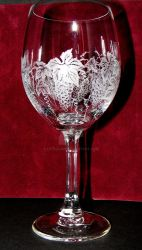Wine glass. by LittleJan