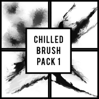 Chilled smudge brush set by served-chilled