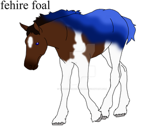 fehire foal for TheRomanLioness by theliondemon-kaimra
