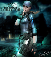 Happy 20th Anniversary Resident Evil ! - Jill V by YumieDolly