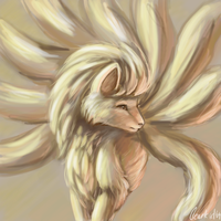 Ninetales by clearkid