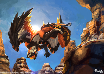 [C] Canyon Leap by thanshuhai