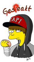 Gesteakt! - Ardy Simpsons Style by Vaccoon