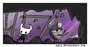 Hollow Knight, doodles 17 by Ayej