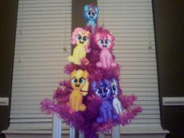 Perler My Little Pony Mane Six Ornaments by Perler-Pony