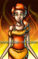 Element Fire - Enya by Alise-Art