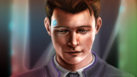 Deviant Connor by MsArtGarden