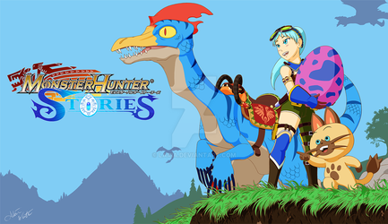 Monster Hunter Stories by Laxia