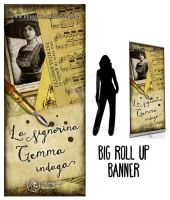Rollup Banner and bookmarks by AltroEvo